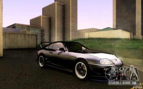 Toyota Supra D1 1998 para GTA San Andreas vista interior