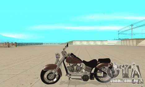 GTAIV Bobber para GTA San Andreas esquerda vista