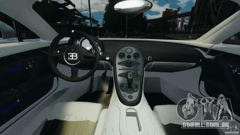 Bugatti Veyron 16.4 Super Sport 2011 v1.0 [EPM] para GTA 4 vista de volta