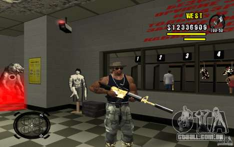 Gold Weapon Pack v 2.1 para GTA San Andreas sexta tela