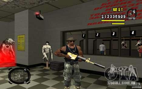 Gold Weapon Pack v 2.1 para GTA San Andreas sexta tela