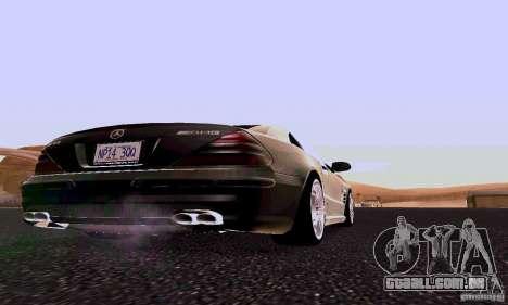Mercedes-Benz SL65 para GTA San Andreas vista direita