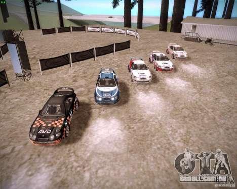 Toyota Celica ST-205 GT-Four Rally para GTA San Andreas