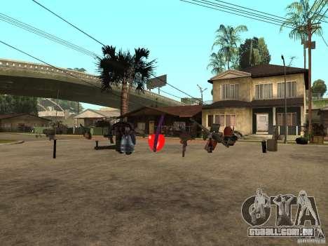 Armas para GTA San Andreas segunda tela