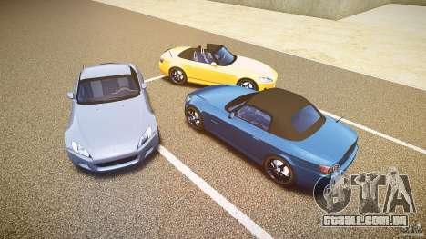 Honda S2000 2002 v2 para um passeio tranquilo para GTA 4 motor