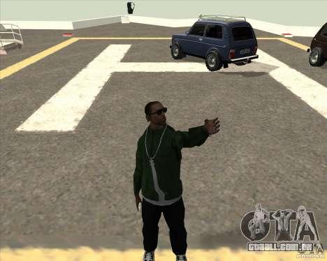 Animação diferente para GTA San Andreas segunda tela