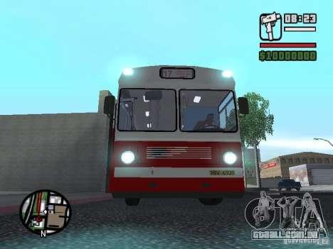 Ikarus Ik4 para GTA San Andreas traseira esquerda vista
