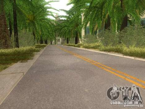 Modification Of The Road para GTA San Andreas sexta tela