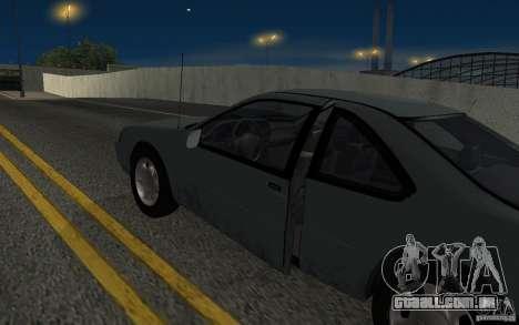 Ford Thunderbird 1993 para GTA San Andreas vista interior