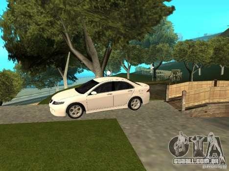 Honda Accord Type S 2003 para GTA San Andreas traseira esquerda vista