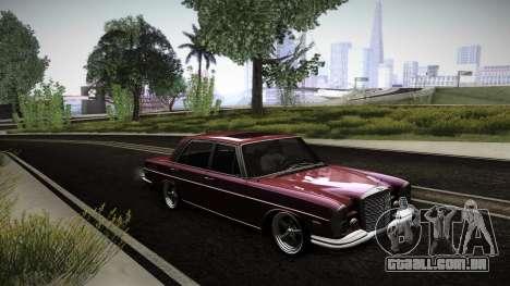 Mercedes Benz 300 SEL - Custom RC3D Edit para GTA San Andreas vista inferior