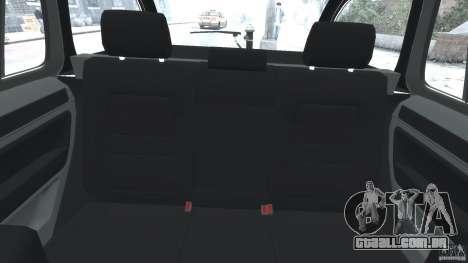 Skoda Octavia Scout NYPD [ELS] para GTA 4 vista de volta