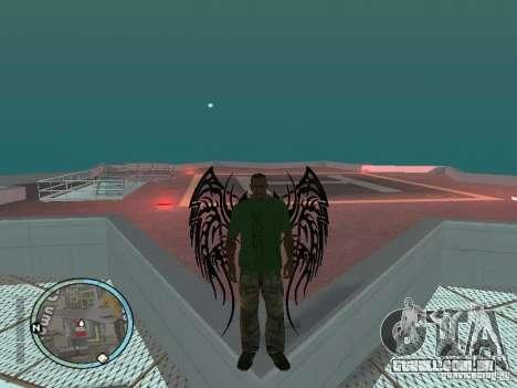 Asas-as asas para GTA San Andreas segunda tela