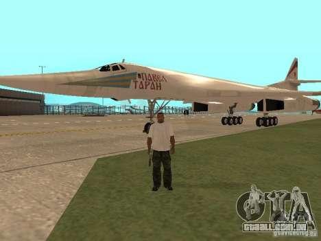 A -160 para GTA San Andreas esquerda vista