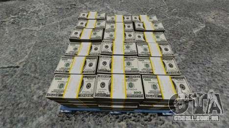 Dinheiro americano para GTA 4 por diante tela