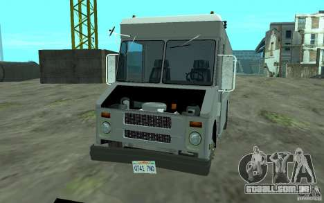 Chevrolet Step Van 30 (1988) para GTA San Andreas vista interior
