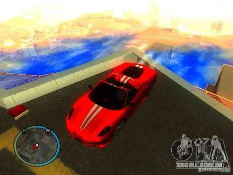Ferrari F430 Scuderia M16 2008 para vista lateral GTA San Andreas