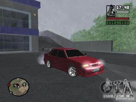 VAZ 2115 TUNING para GTA San Andreas