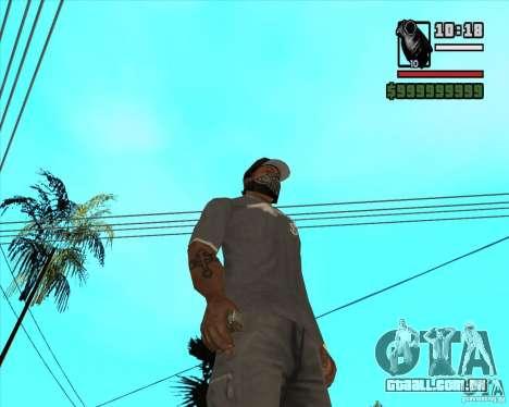 Millenias Weapon Pack para GTA San Andreas twelth tela