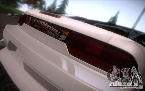 Nissan 240SX DriftMonkey para GTA San Andreas vista direita