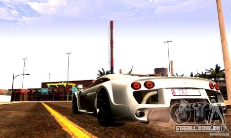 Noble M600 Final para GTA San Andreas vista direita