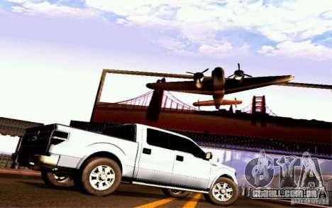 Ford Lobo 2012 para GTA San Andreas vista direita
