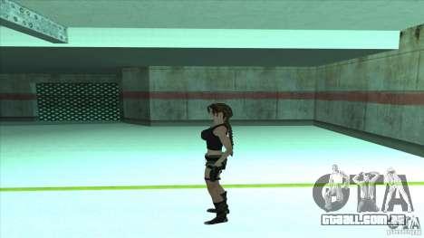 Lara Croft para GTA San Andreas terceira tela