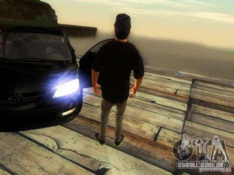 Menino no FBI para GTA San Andreas por diante tela