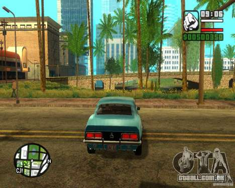 ENBSeries 2012 para GTA San Andreas quinto tela