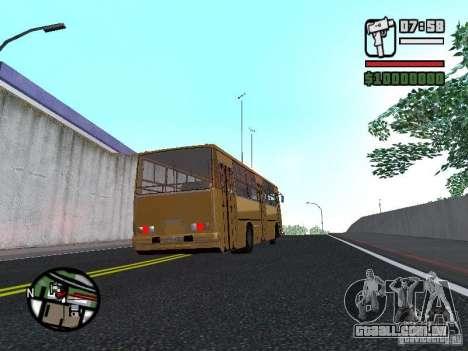 IKARUS 260.37 para GTA San Andreas vista traseira