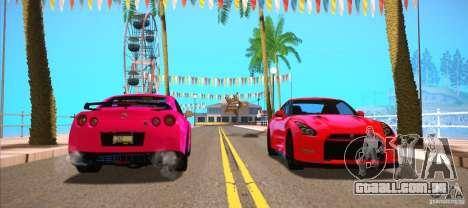ENBSeries for SA-MP para GTA San Andreas sexta tela