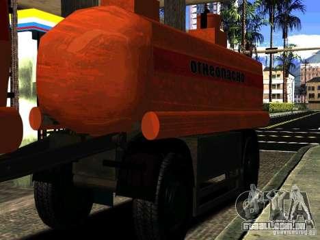 MAZ 533702 reboque caminhão para GTA San Andreas