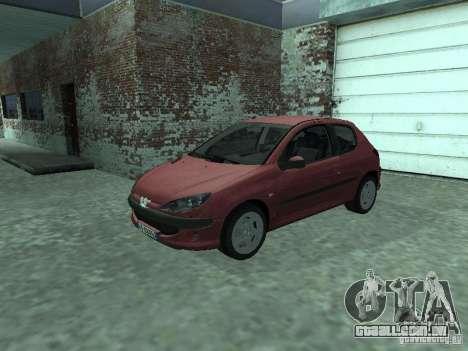 Peugeot 206 HDi 2003 para GTA San Andreas