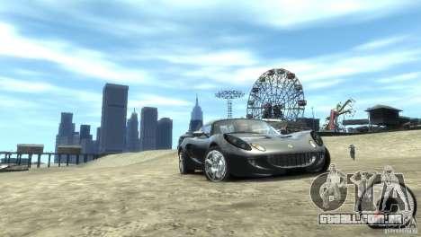 Lotus Elise v2.0 para GTA 4 traseira esquerda vista