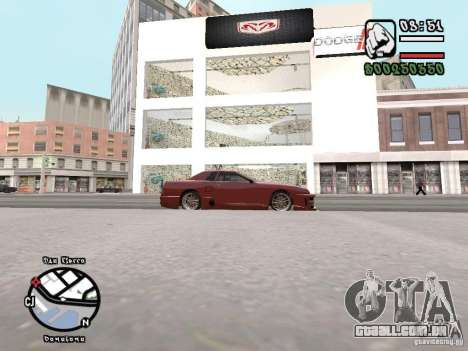 Dodge Salon para GTA San Andreas terceira tela