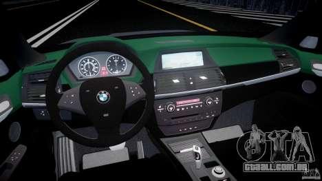 BMW X5 Experience Version 2009 Wheels 214 para GTA 4 vista direita