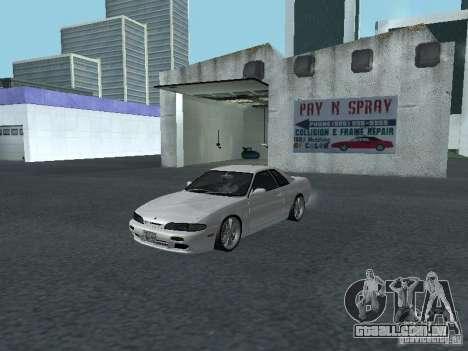Nissan Skyline R32 Zenki para GTA San Andreas esquerda vista