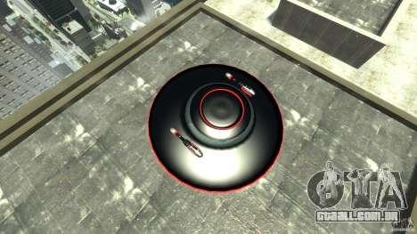 UFO neon ufo red para GTA 4 vista direita