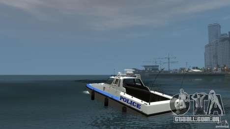NYPD Predator para GTA 4 traseira esquerda vista