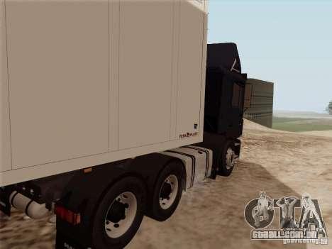 MAN F2000 6x4 para GTA San Andreas vista direita