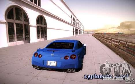 ENBSeries para v 2.0 de PC mais fraco para GTA San Andreas quinto tela