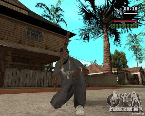 Armas de Pak de Fallout New Vegas para GTA San Andreas segunda tela