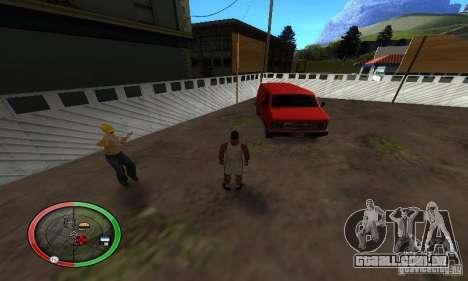 NEW STREET SF MOD para GTA San Andreas sexta tela
