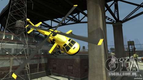 Yellow Annihilator para GTA 4 vista inferior