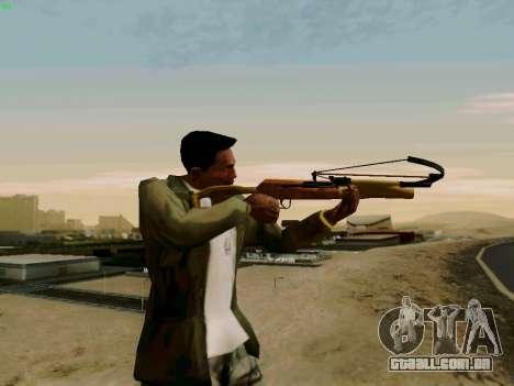Uma besta de trabalho com as setas para GTA San Andreas segunda tela