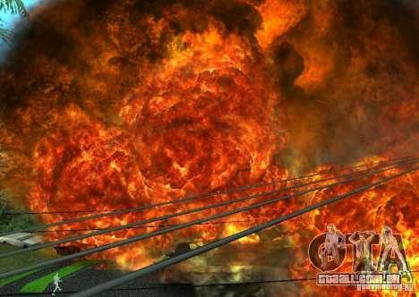 Novos efeitos de explosões para GTA San Andreas sétima tela