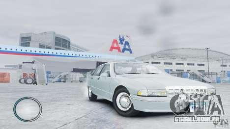 Chevrolet Caprice 1993 para GTA 4 vista direita