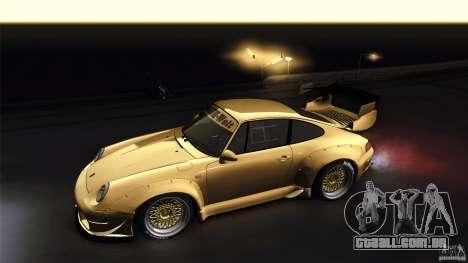 Porsche 993 RWB para GTA San Andreas vista traseira