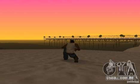 Sunshine ENB Series by Recaro para GTA San Andreas quinto tela
