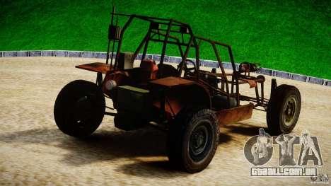 Half Life 2 buggy para GTA 4 traseira esquerda vista